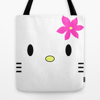 The Kat Tote Bag by Pop E. Carp