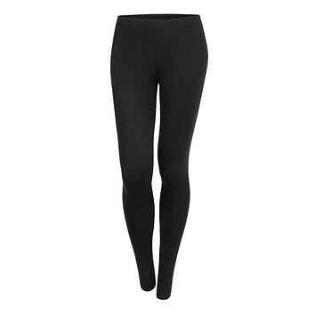Stretchy Solid Leggings