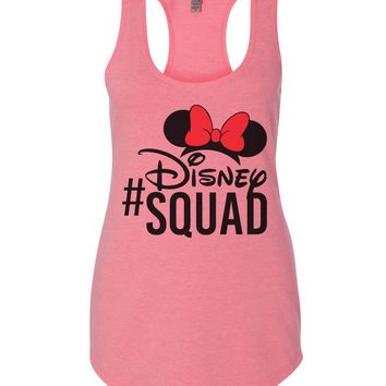 Disney Squad Womens Workout Tank Top