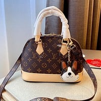 LV Classic Presbyopia Women's Shell Bag Handbag Crossbody Bag