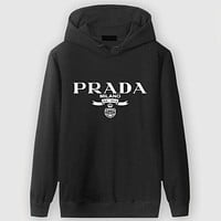 Boys & Men Prada Casual Edgy Long Sleeve Sweater Hoodie