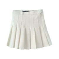 School Style Mini Skirt