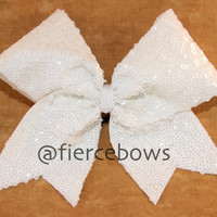 Sequin Cheer Bow