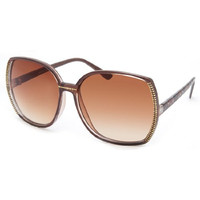 Full Tilt Luxor Sunglasses - Brown Leopard - for Women / Girls