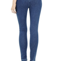 Acne Skin high-rise zip-back skinny jeans – 70% at THE OUTNET.COM