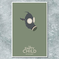 Doctor Who Poster The Empty Child 11x17 by ModernStylographer