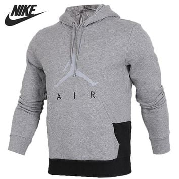 Original New Arrival 2018 NIKE JUMPMAN AIR GFX FLEECE Men's Pullover Hoodies Sportswear