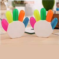 Highlighter for Kids 5 Colors Gift School Supplies DIY Cute Kawaii Colorful Highlighter Hand Design Pen Highlighter