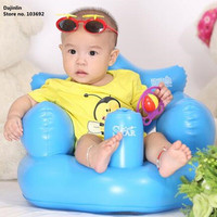 Blue Portable Inflatable Baby Chair. Multi-purpose