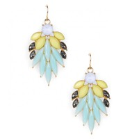 Sole Society Stone Feather Earring
