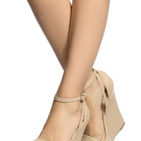 Natural Faux Leather Ankle Strap Wedges @ Cicihot Wedges Shoes Store:Wedge Shoes,Wedge Boots,Wedge Heels,Wedge Sandals,Dress Shoes,Summer Shoes,Spring Shoes,Prom Shoes,Women's Wedge Shoes,Wedge Platforms Shoes,floral wedges