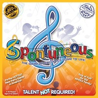 Spontuneous Board Game: The Game Where Lyrics Come to Life Sing It or Shout It - Talent Not Required