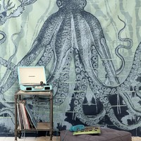 4040 Locust Octo-Sea Tapestry - Urban Outfitters