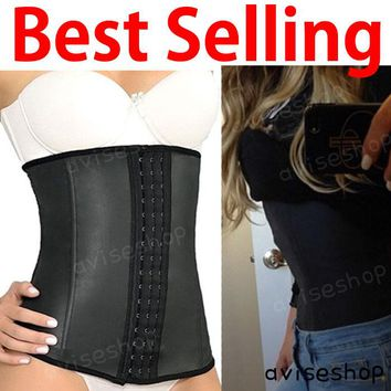 Slim diet Waist Trainer Cincher Underbust  Corset Girdle Workout Belt Shaper Belt great