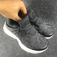 NIKE Girls Boys Children Baby Toddler Kids Child Weave Breathable Sneakers Sport Shoes-1