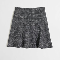 Factory flared skirt in tweed
