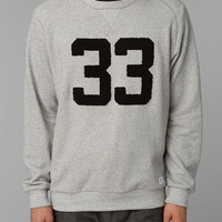 Urban Outfitters - adidas Blue 33 Pullover Sweatshirt