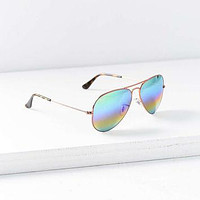 Ray-Ban Mineral Lens Aviator Sunglasses - Urban Outfitters