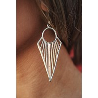 Lula Drop Earrings (Silver)