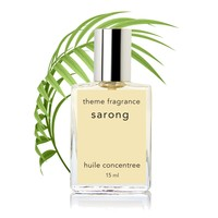 Sarong ™ Tropical Vanilla coconut perfume oil by Theme Fragrance. Best coconut fragrance