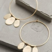 Tamborim Hoops by Roost Gold One Size Jewelry