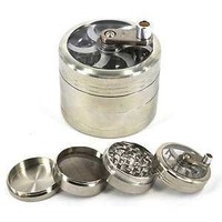 3 x Rotary Crank Weed Grinder - HAND MILL WEED GRINDER - SPECIAL PRICE