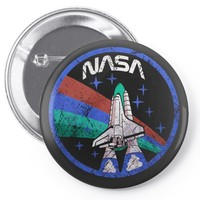 nasa Pin-back button