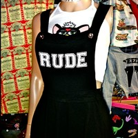 SWEET LORD O'MIGHTY! RUDE BITCH PINAFORE