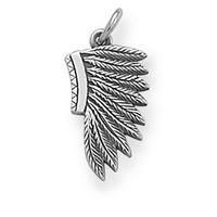 Flat Headdress Charm | James Avery