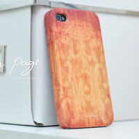 Apple iphone case for iphone iphone 5 iphone 4 iphone 4s iPhone 3Gs  : vintage abstract pattern on wood background (Not real wood)
