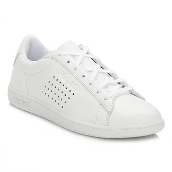Le Coq Sportif Mens Optical White Arthur Ashe Luxe Trainers