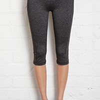 Heathered Yoga Capris