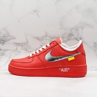 OFF-White x Nike Air Force 1 Red OW