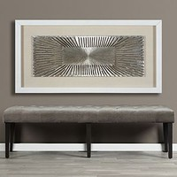 Silver Flare | Dimensional Walls | Spring Trends | Trends | Z Gallerie
