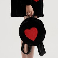 Lazy Oaf Furry Heart Backpack - Everything - Categories - Womens