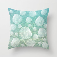 Decorative Throw Pillow Cover - Different sizes to Choose From, Square, Rectangular, Double-sided print, Indoors, Outdoors, Pattern, Sea