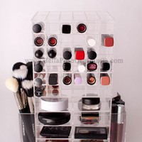 SPINNING MAKEUP TOWER (CLEAR) / BELLAPOSH ORGANIZERS
