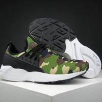 Fila Destroyer 1825 Camo Running Shoes Size 36 44.5