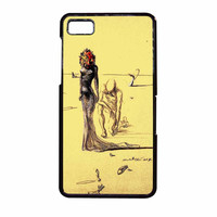 Salvador Dali Woman With Flower Head BlackBerry Z10 Case