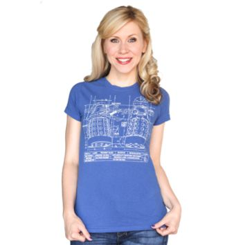 Dalek Blueprint Tee