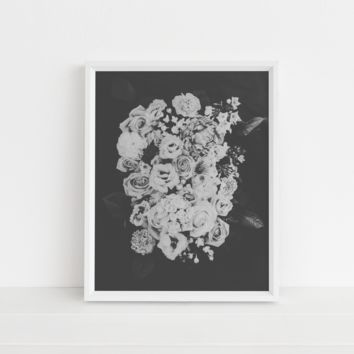 Vintage Flower Bunch High Quality Poster Wall Art