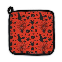 Potholder, Halloween Card Pattern