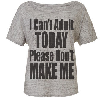 i cant adult today workout tank workout top workout womens workout shirts workout clothes gym tank gym shirts fitness motivation