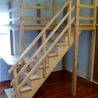 Custom designed kids LOFT/BUNK bed