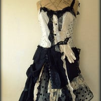 Glove dress by NaturallyBohemian on Etsy