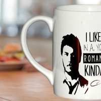 I Like You, In a, You Know, Romantical Kinda Way Parks and Rec Quotes, Parks and Recreation Andy Dwyer, Andy Dwyer Qu mug