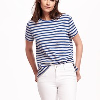 Boyfriend Pocket Tee for Women | Old Navy