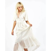 Cleobella Taj Dress Ivory | Midnight Rambler
