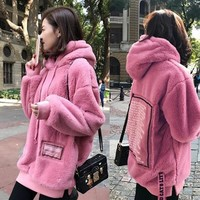 5XL Women Large Size Pullovers Plus Velvet Padded Thick Warm Coats Fall Winter Clothes Red Loose Coat Casual Thicken Jackets