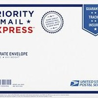 """Expedited USPS EXPRESS (not priority) Shipping Option: Most Kits over 6"""" Long - USPS EXPRESS 2 Day Max; EXPRESS"""